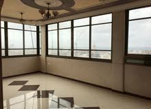 شقة 130 متر للايجار - غزة النصر، مصعد الكتروني على مدار الساعة