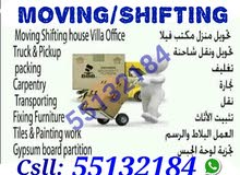q moving shifting packing carpenter tranasport