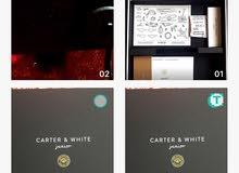 علب هدايا ماركة Carter & White junior