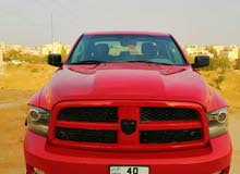 red Dodge ram 1500