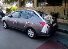 نيسان صنى 2016 للايجار بالسائق