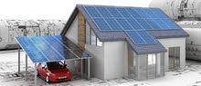 مظلات ومواقف سيارات بالطاقة الشمسية
