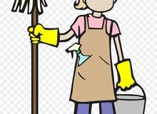 يوجد لدينا عمال نظافة للتنازل