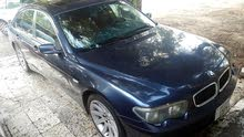Blue BMW 745 2002 for sale