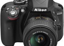 كاميرا نيكون 3300D للبيع ،