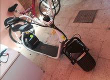 دراجه هارلي كهربا للبيع بسعر مغري جدا جدا جديد.استعمال شهر فقط انضيف اكتسر