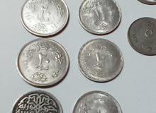 للبيع لاعلى سعر عملات مصريه فضيه