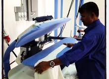 مطلوب عامل كي و غسيل الملابس we need Ironing and laundry worker with experience