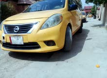 Nissan Versa car for sale 2013 in Baghdad city