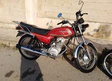 Used Honda motorbike up for sale in Irbid