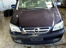 2004 Used Zafira with Manual transmission is available for sale