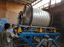 مصنع خزانات بلاستيك وماكينة تصنيع الأغطية ومواد بولي ايثلين للبيع