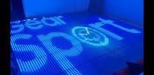 LED dancing floor... 3x3m...36 panels. شاشة مناسبات ليد