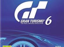مطلوب لعبة gran turismo 6 للبلايستايشن3