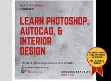 Photoshop, Autocad & Interior w (IKEA Interior Designer)