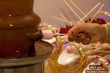 تأجير نافوره الشوكولاته