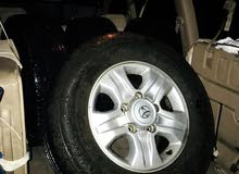 17inch land cruiser wheel with tire for sale