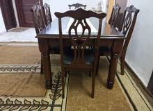 طاولة سفرة خشب زان