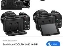 nikon coolpix l830 like new