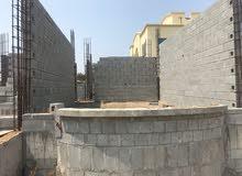 للبيع  منزل قيد الانشاء في ولاية صحار منطقة الطريف الجديده