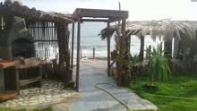 استراحة في القربولي  علي البحر بعد قرية العطايا