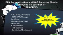 UAE Documents Attestation Services