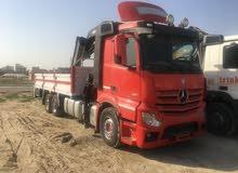 Mercedes Actros 2013 boom truck with Hiab 12 ton crane