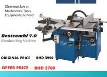 New Scheppach Bestcombi Machine for carpentry
