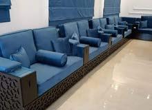 نصنع صوفا جديدة ، ماجليش ، نغير ملابس الأريكة ، ستارة جديدة تصنع وتثبت