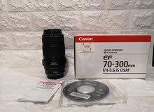 عدسه كانون زوم 70-300 Lens