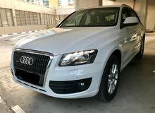 Audi Q5 2012 white Mid options