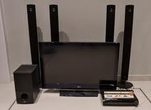 نظام صوتي مع تلفزيون audio system with tv and subwoover