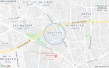 ارض تجارية فى زناتة الجديدة على الرئيسى واجهتان ..مساحتها 280متر