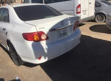 White Toyota Corolla 2010 for sale
