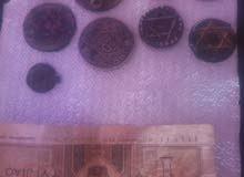 عملات قديمة عمرها اكثر من 100سنة