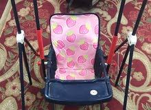 كرسي اكل للاطفال مرجحيه