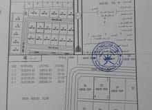 ارض للبيع في بركاء حي عاصم