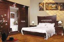 شقة مفروشه للايجار بالمهندسين بجوار شارع شهاب بموقع رائع و فرش نضيف