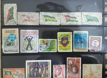 29 طابع بريدي قديم Old Stamps