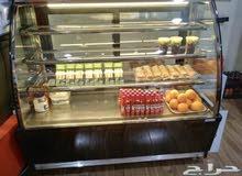 ثلاجة كيك وحلويات أيطالي للبيع