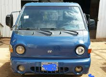 هيونداي بورتر . جازولين  2003 اللون ازرق الاستخدام نصف نقل