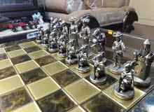 شطرنج نحاس قديمه جدا ( اغريقيه )