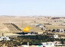 ارض مميزة مطلة و مرتفعة للبيع رحاب طريق الزرقاء اربد (عين والمعمرية )