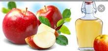 خل تفاح طبيعي 100%