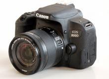 canon t7i (800d) كانون 800دي للبيع  جديدة