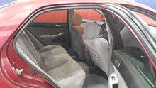 هوندا اكورد 2003 تسجيل وتبيم سنة كاملة السيارة ناعمة ماكينة وجير ومكيف ما شاء ال