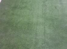 عشب اصطناعي جديد استعمل عددت ايام فقط