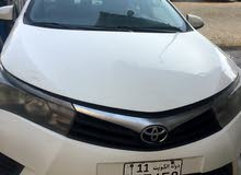 Toyota Corolla car is available for a Month rent