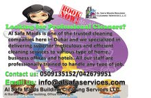 PROFESSIONAL CLEANING SERVICES BY AL SAFA & ALL DAYS MAIDS