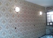 مستعدون لكافة انواع الصبغ والديكورات والسقوف الثانوية وتغليف الجدران 07806104065